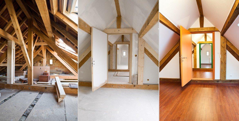 Amenagement des combles et renovation intérieure
